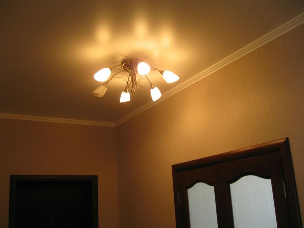 Фотографии коридора, потолки