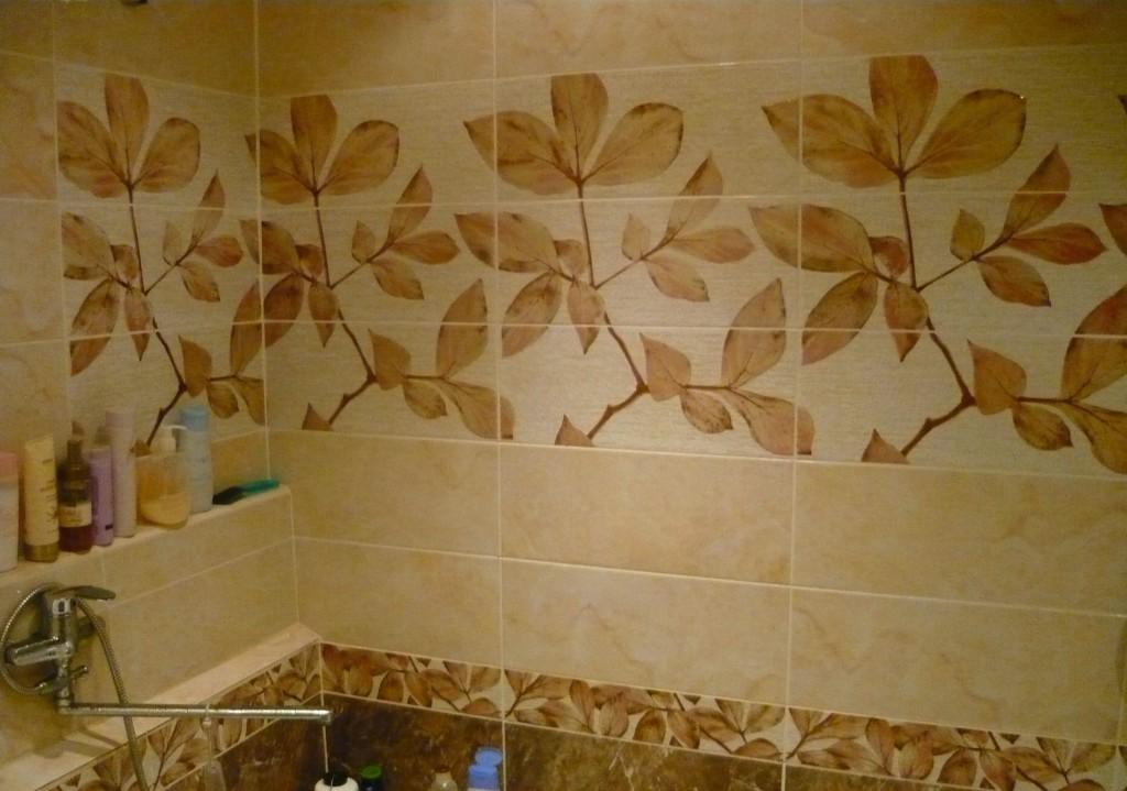 Плитка Керама-Мараци в ванной комнате