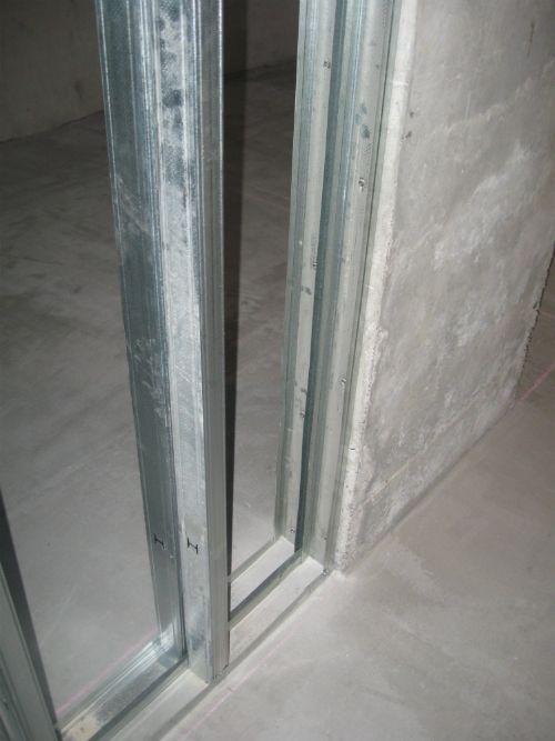 Стена из гипсокартона - установка