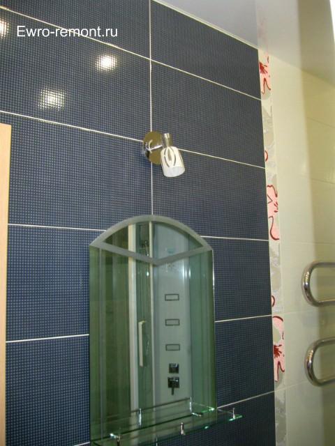Ремонт квартир г. Минусинск и г. Абакан.Зеркало в ванной комнате г Абакан