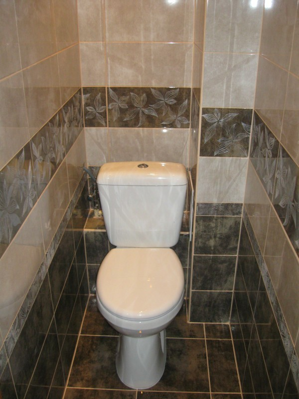 Дизайн плитки в туалете в хрущевке