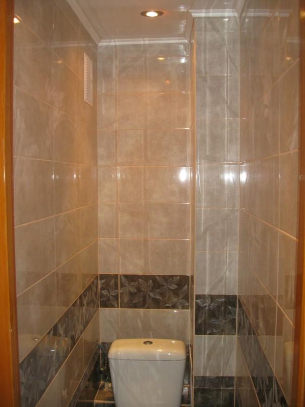 Фото кафеля в стандартном туалете