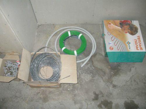 Теплый пол кабельный, виды и монтаж