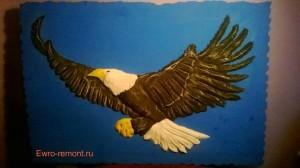 Барельеф в г. Абакане и Минусинске