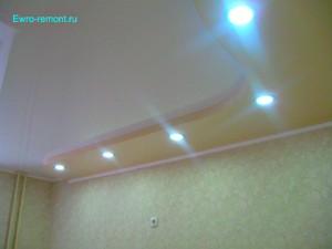 Натяжной криволинейный потолок