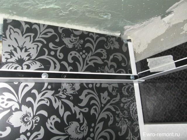 Уголок окантовка для стен