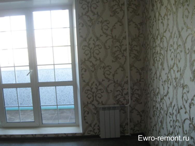 Французское окно в зале