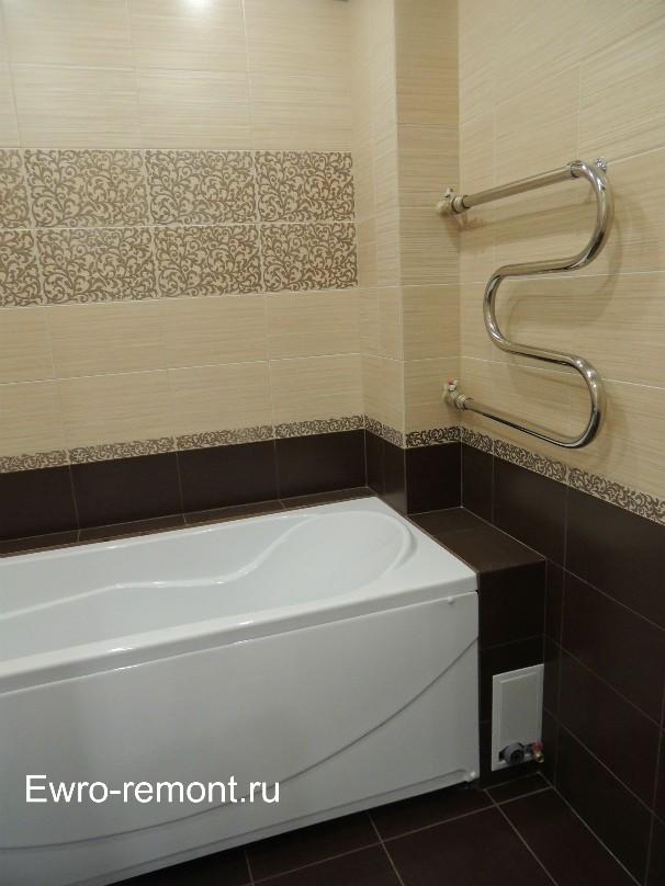 Ремонт ванной комнаты в г. Абакане