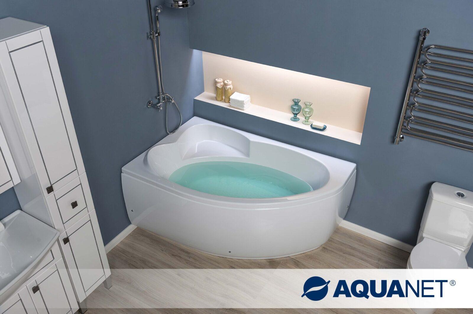 Акриловая ванна AquanetSarezo