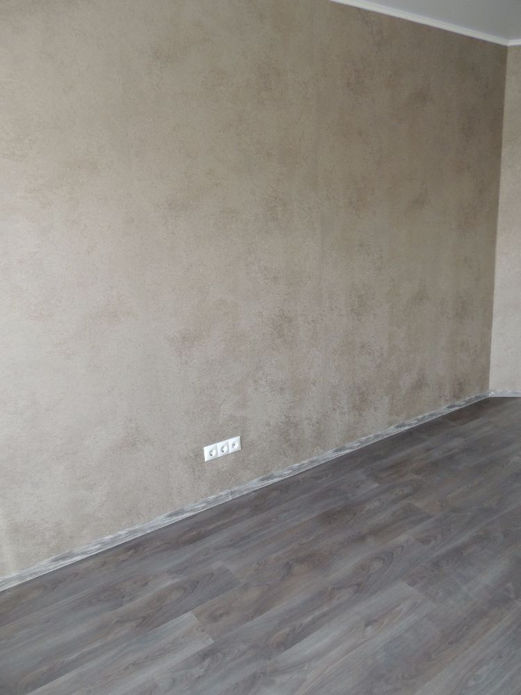 Общий фон пола и стен становится светлее