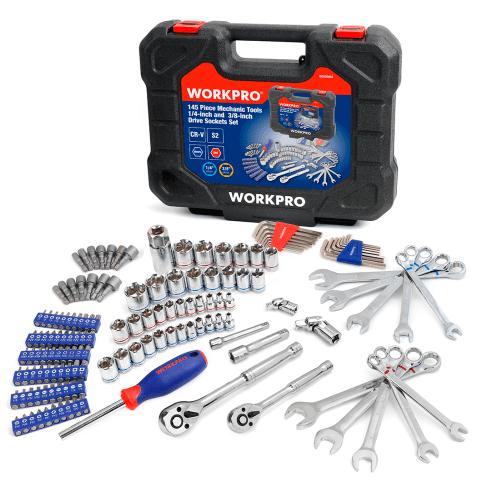 """Инструменты набор для ремонта автомобиля, гаечные ключи 1/4 """"и 3/8""""  гаечные ключи. Набор дома инструменты"""