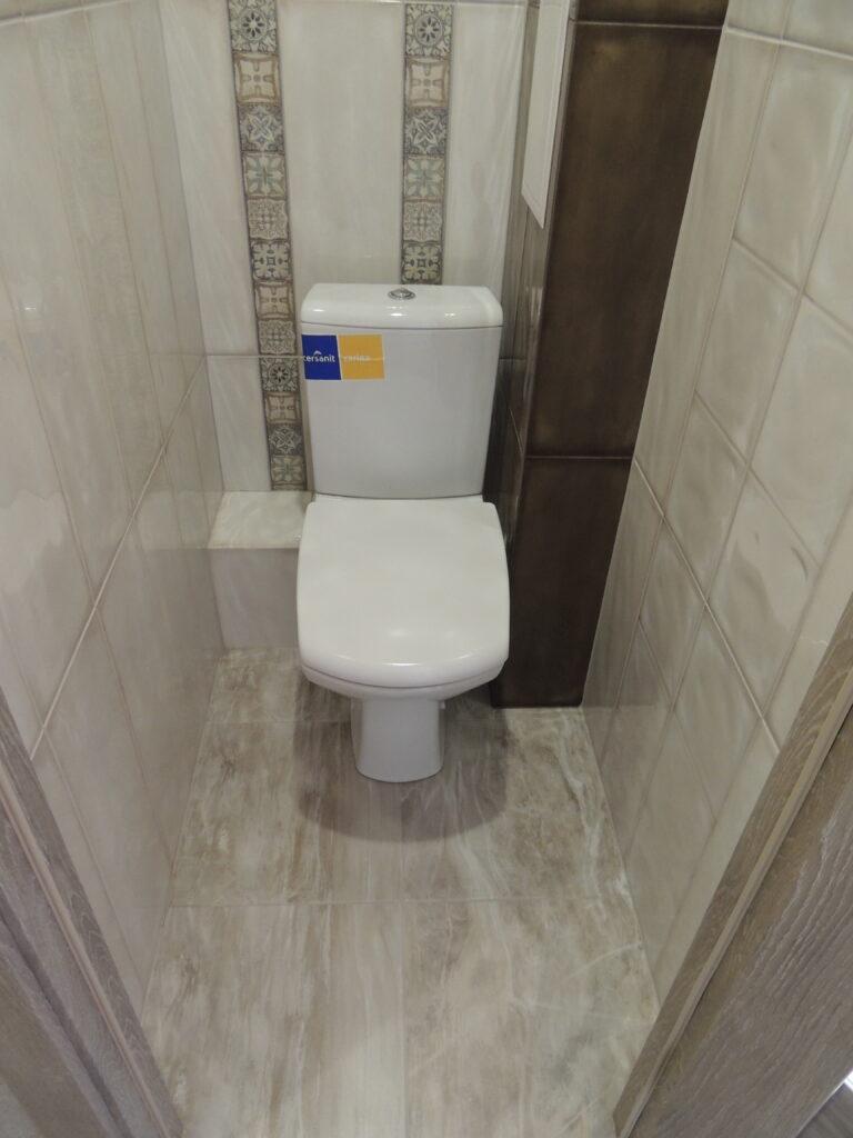 Красивый ремонт туалета