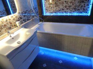 Шикарный ремонт ванной комнаты в г. Красноярске