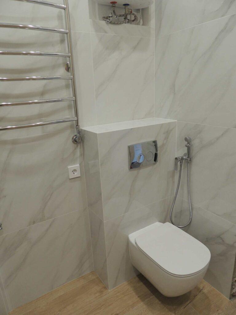 Инсталляция. Современный дизайн туалета