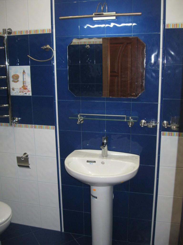 Укладка кафеля в ванной комнате
