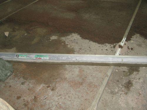 Выравнивание пола более 3 см керамзитом
