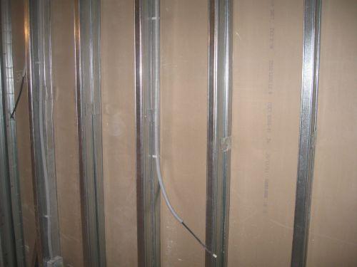Электрика в стенах из гипсокартона