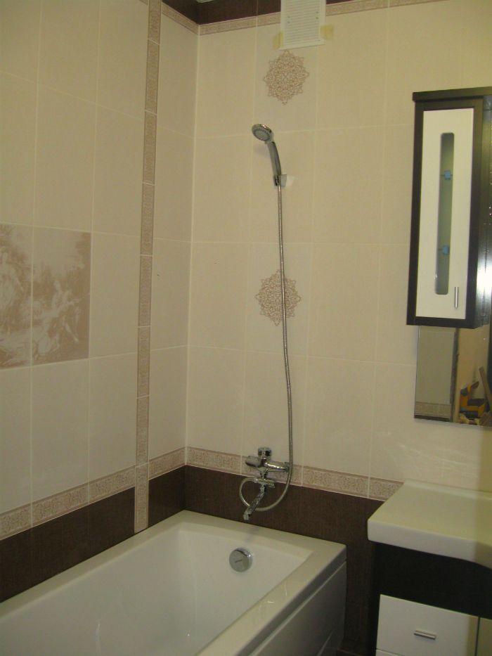 Кафель в ванной г. Абакан