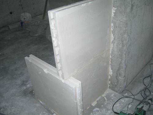 Фото стен из пазогребневых плит