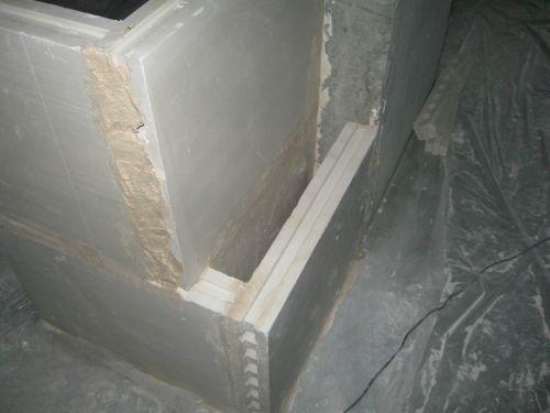 двойная стена из пазогребневых плит