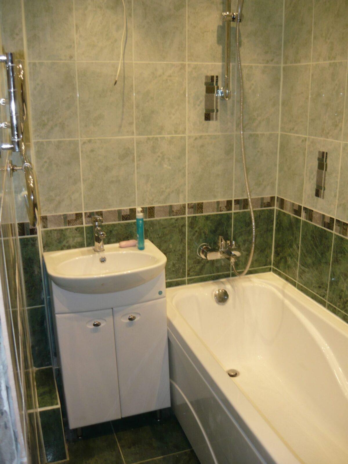 Стандартная ванная комната