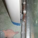 Делаем короб под трубы в ванной