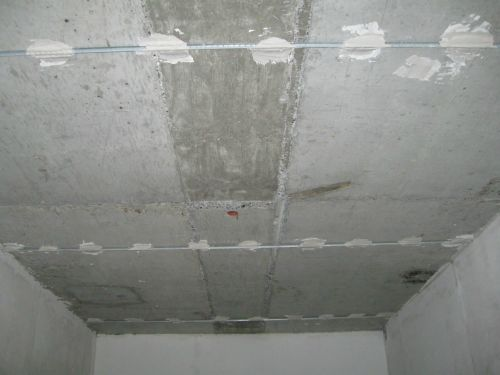фотографии штукатурки потолков