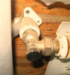 Специальные вентили для радиаторов