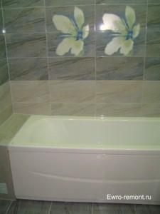 Ванна меньше, чем ванная комната