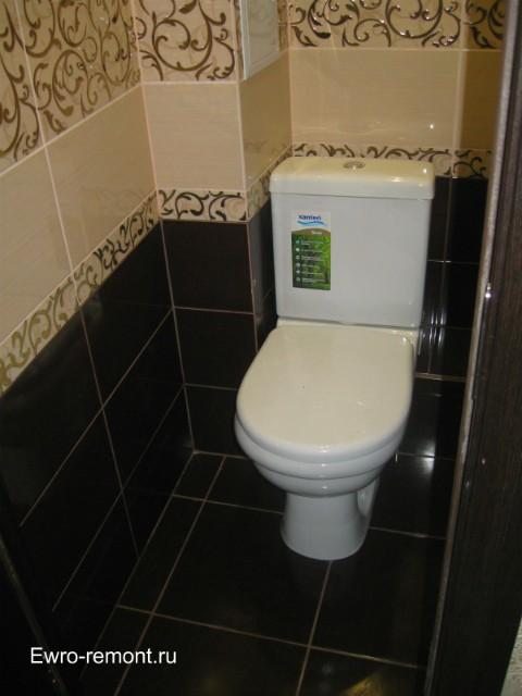 Ремонт туалета в четырехкомнатной квартире в г.Минусинске