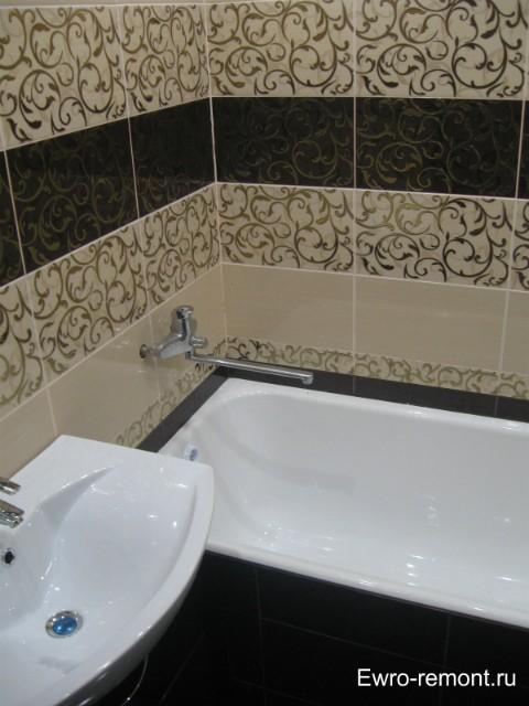 Ремонт ванной комнаты в г.Минусинске