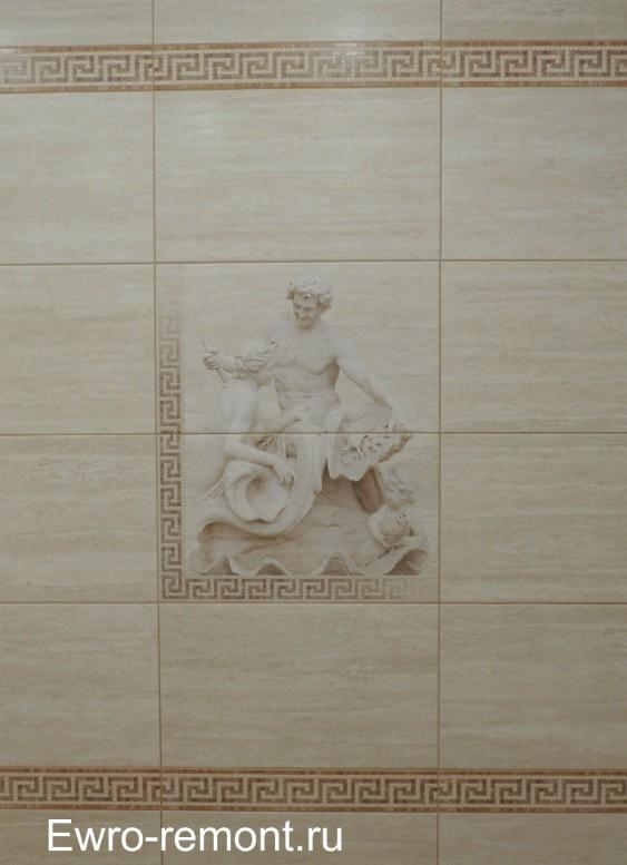 панно плитки голый мужчина