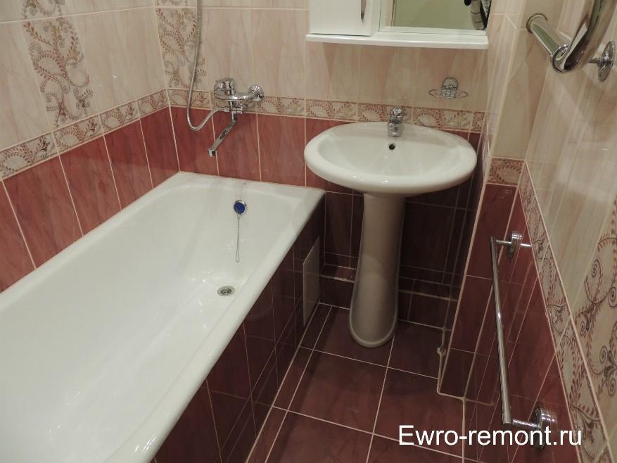 Ремонт ванной и туалета в г. Минусинске
