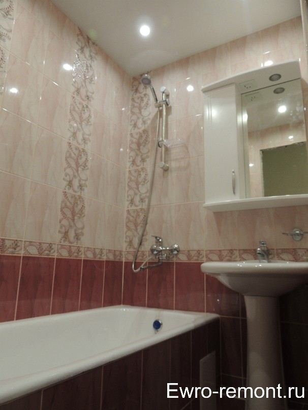Ремонт ванной и туалета в г. Минусинске ул Бограда