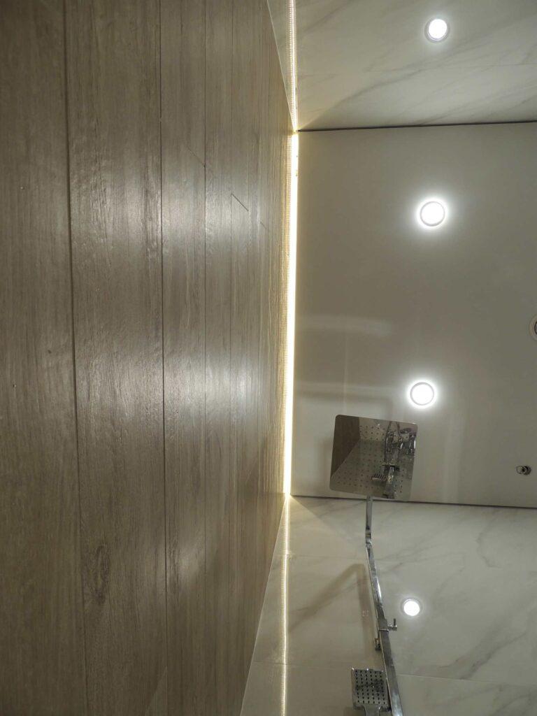 Подсветка в ванной